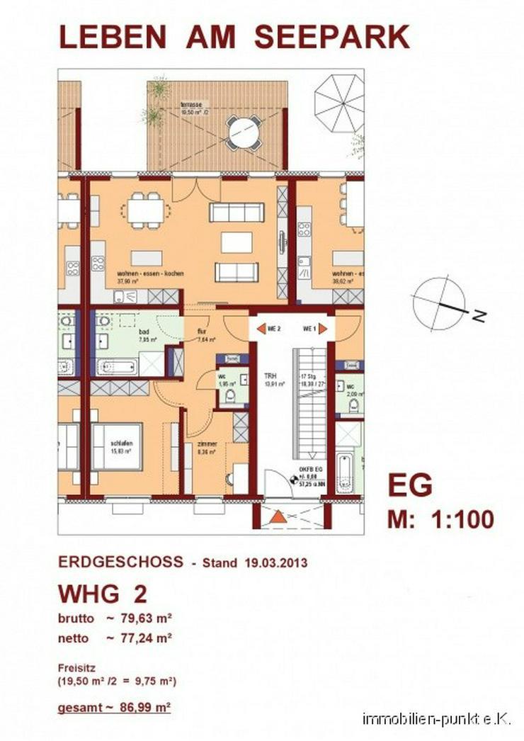 Neubau mit Komfort - Ihre Eigentumswohnung mit eigenem Garten - Wohnung kaufen - Bild 1