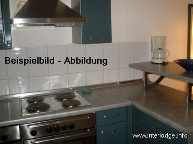 Bild 3: INTERLODGE Modern möbl. Wohnung, Bochum-City, Schlafzimmer mit 2 Einzelbetten, Pantry Kü...