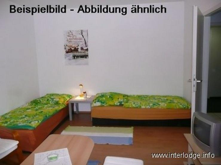 Bild 2: INTERLODGE - Monteurunterkunft in Essen-Altenessen. Apartment mit Einzelbetten, Dusche, Pa...
