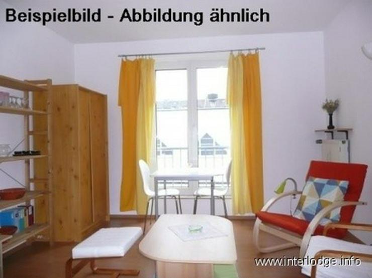 Bild 2: INTERLODGE Möbliertes Apartment in E-Altenessen. Dusche, Pantry.