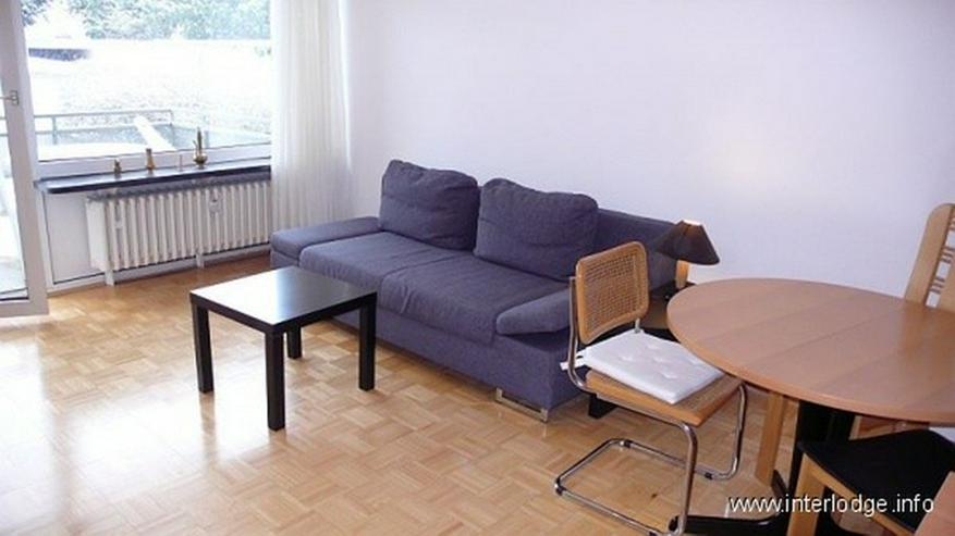 INTERLODGE Modern möbliertes Apartment mit Balkon in Essen-Bredeney. - Wohnen auf Zeit - Bild 1