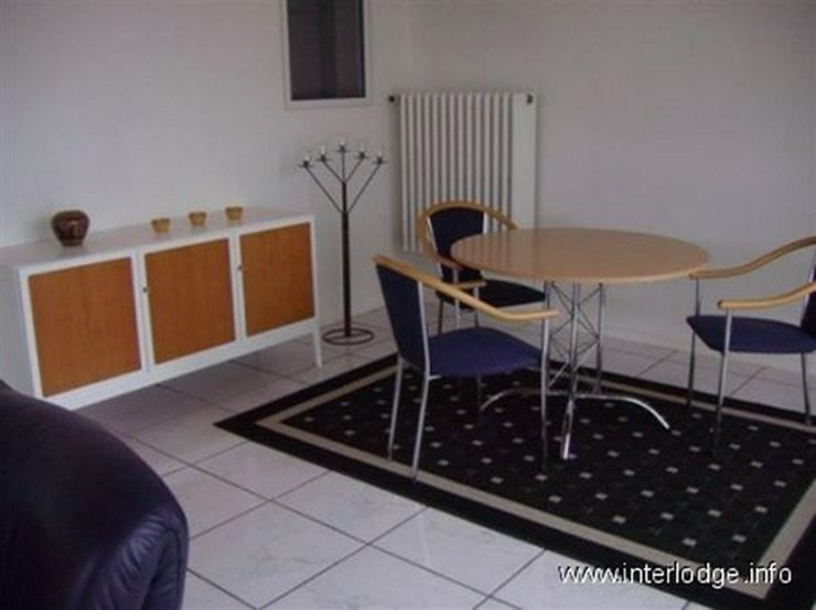 INTERLODGE Gut möblierte Wohnung mit kleiner Terrasse in Bochum-Laer. - Wohnen auf Zeit - Bild 1