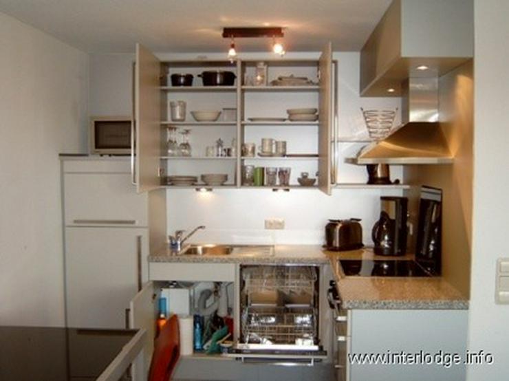 Bild 5: INTERLODGE Modern möblierte Wohnung im Dachgeschoß mit großem Balkon in Bochum-Wattensc...