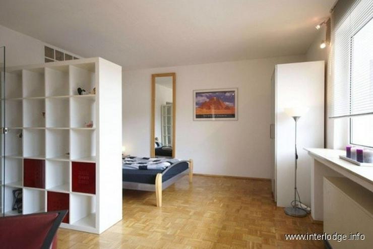 Bild 2: INTERLODGE Modern möblierte Erdgeschoß-Wohnung mit Balkon in Bochum-Wattenscheid.