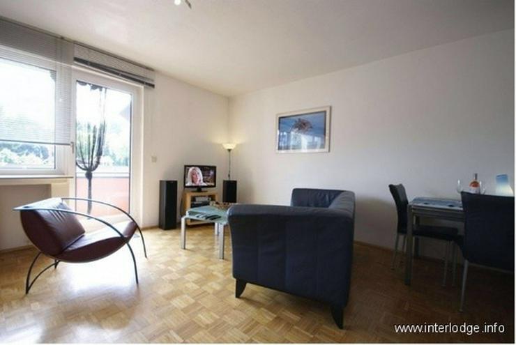 INTERLODGE Modern möblierte Erdgeschoß-Wohnung mit Balkon in Bochum-Wattenscheid. - Wohnen auf Zeit - Bild 1