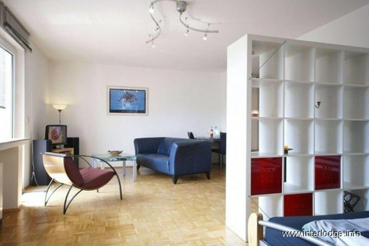 Bild 3: INTERLODGE Modern möblierte Erdgeschoß-Wohnung mit Balkon in Bochum-Wattenscheid.