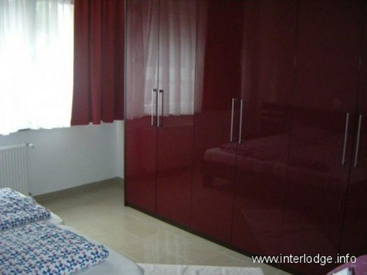 Bild 6: INTERLODGE Modern und neu möblierte Wohnung mit Balkon u. 2. Schlafraum in Essen-City - N...