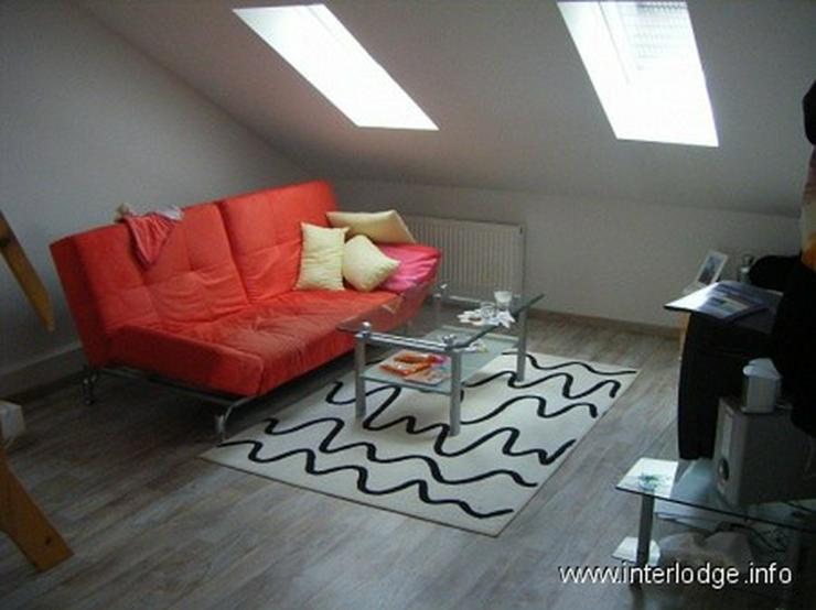 INTERLODGE Modern und neu möblierte Maisonettewohnung mit 2. Schlafraum in Essen-City - N... - Wohnen auf Zeit - Bild 1