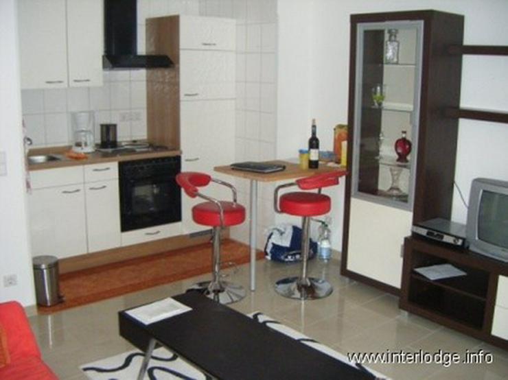 Bild 4: INTERLODGE Modern und neu möblierte Wohnung mit Balkon u. 2. Schlafraum in Essen-City - N...