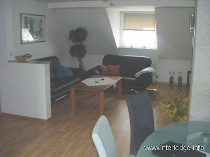 Bild 2: INTERLODGE Komfortabel möblierte Maisonette-Wohnung in Essen-Rüttenscheid - in bevorzugt...