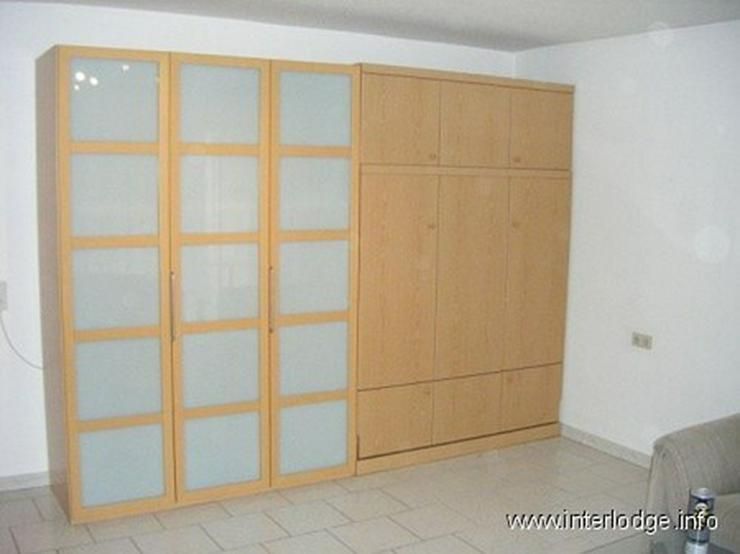 Bild 5: INTERLODGE Hochparterre: Neu und modern möbliertes Apartment mit Balkon in Ratingen.