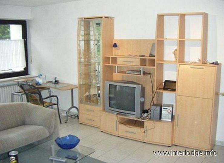 INTERLODGE Hochparterre: Neu und modern möbliertes Apartment mit Balkon in Ratingen. - Wohnen auf Zeit - Bild 1