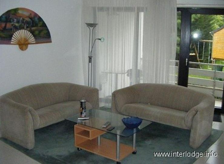 Bild 3: INTERLODGE Hochparterre: Neu und modern möbliertes Apartment mit Balkon in Ratingen.