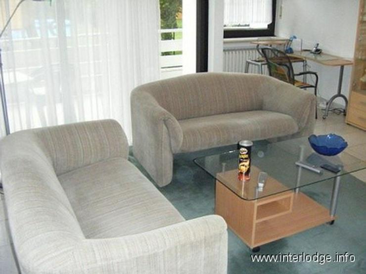 INTERLODGE Hochparterre: Modern möbliertes Apartment mit Balkon in Ratingen. - Wohnen auf Zeit - Bild 1