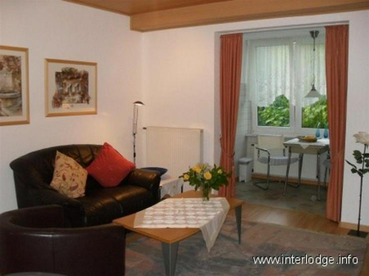 INTERLODGE Modern möblierte Wohnung in ruhiger Seitenstraße in Essen-Frohnhausen. - Wohnen auf Zeit - Bild 1