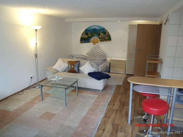 INTERLODGE Ratingen-Ost: Modern möbliertes Apartment mit Terrasse in ruhiger und guter La... - Wohnen auf Zeit - Bild 1