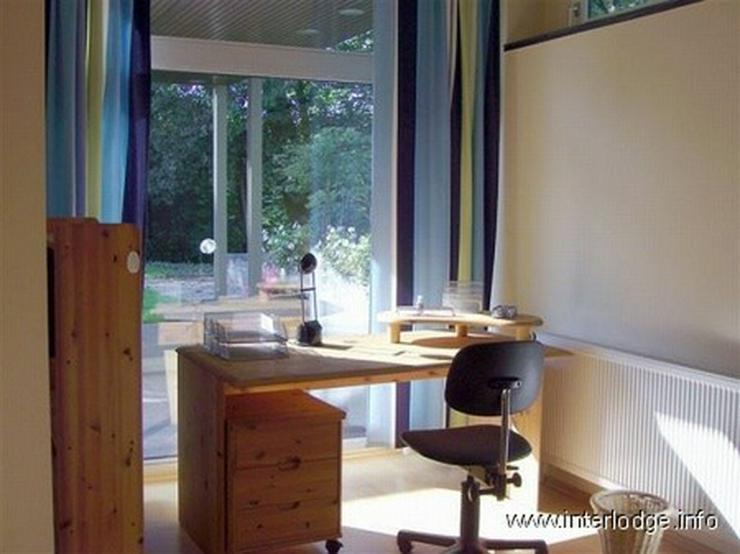 Bild 4: INTERLODGE Modern möblierte Wohnung in Bochum-Laer mit Terrassennutzung und Gartenmitbenu...