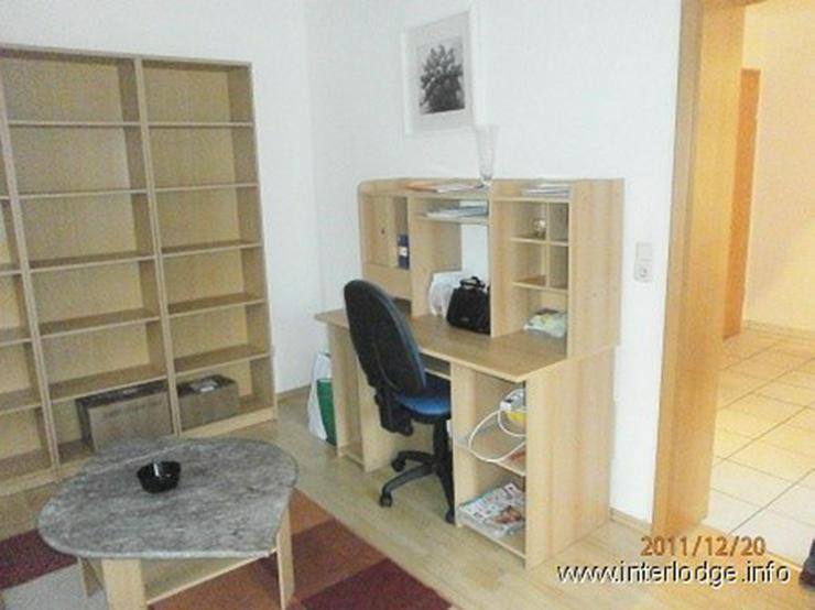 Bild 3: INTERLODGE Modern möblierte Maisonette Wohnung (2 Schlafzimmer, Balkon) in Dortmund-Alt S...