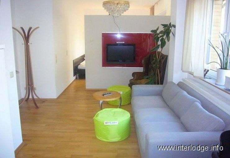 INTERLODGE Komplett, modern möblierte Wohnung mit Terrasse in Dortmund-Hörde - Wohnen auf Zeit - Bild 1