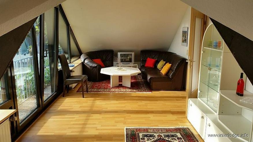 Bild 3: INTERLODGE Komplett möblierte Wohnung mit kleinem Balkon in Dortmund-Brackel