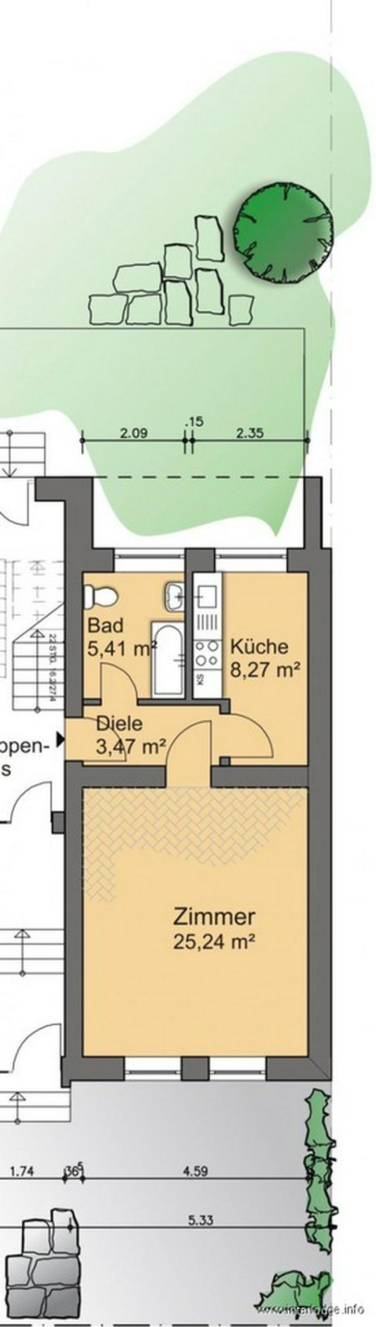 Bild 3: INTERLODGE Modern möbliertes Apartment in Wuppertal-Elberfeld