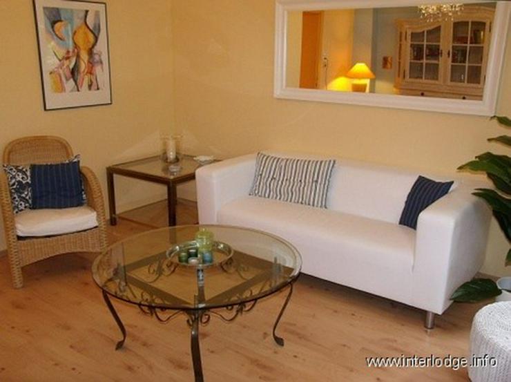 Bild 1: INTERLODGE Komplett möblierte Wohnung mit 2 Schlafzimmern und Gartennutzung in Essen-Rüt...