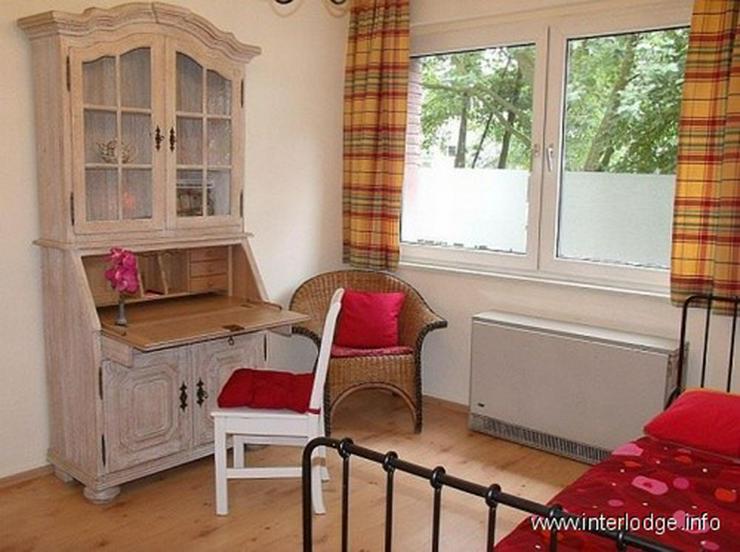 Bild 9: INTERLODGE Komplett möblierte Wohnung mit 2 Schlafzimmern und Gartennutzung in Essen-Rüt...