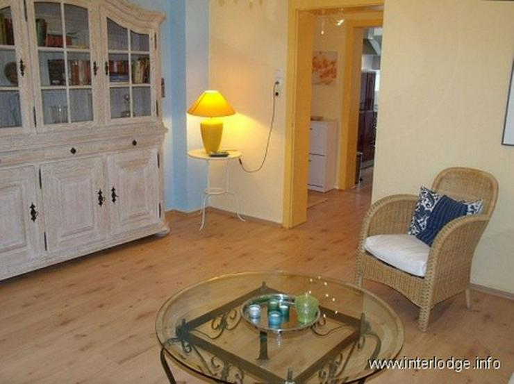 Bild 5: INTERLODGE Komplett möblierte Wohnung mit 2 Schlafzimmern und Gartennutzung in Essen-Rüt...