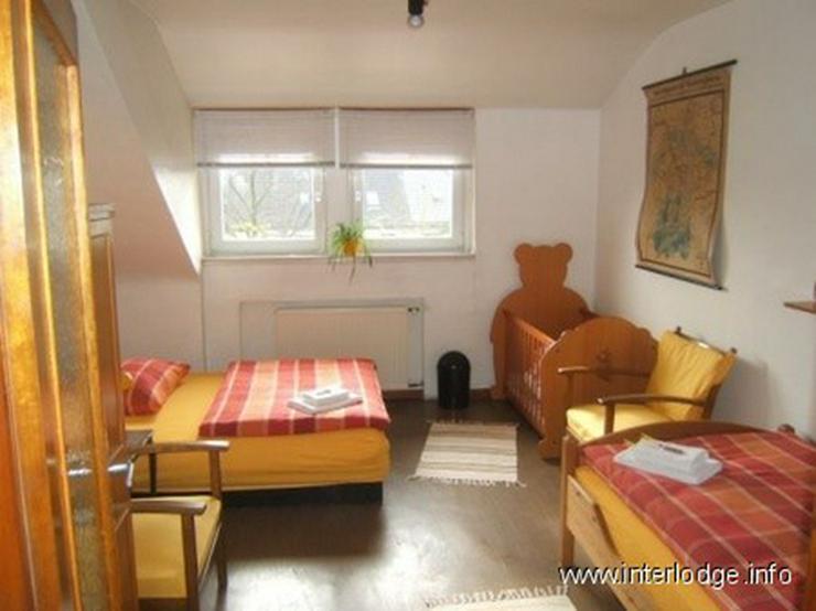 INTERLODGE Komplett möblierte Wohnung mit Balkon in Essen-Hosterhausen (Nähe Uni-Kliniku... - Wohnen auf Zeit - Bild 1