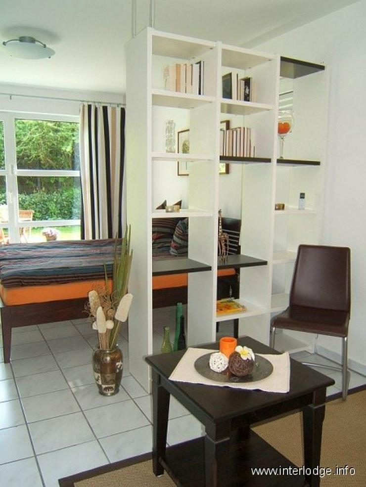 Bild 2: INTERLODGE Möbliertes Apartment mit 2 Terrassen und Garten in ruhiger Grünlage in Essen-...