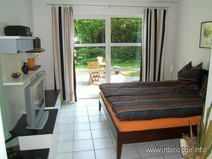Bild 3: INTERLODGE Möbliertes Apartment mit 2 Terrassen und Garten in ruhiger Grünlage in Essen-...