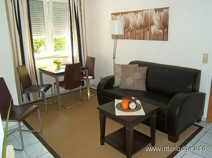 INTERLODGE Möbliertes Apartment mit 2 Terrassen und Garten in ruhiger Grünlage in Essen-... - Wohnen auf Zeit - Bild 1