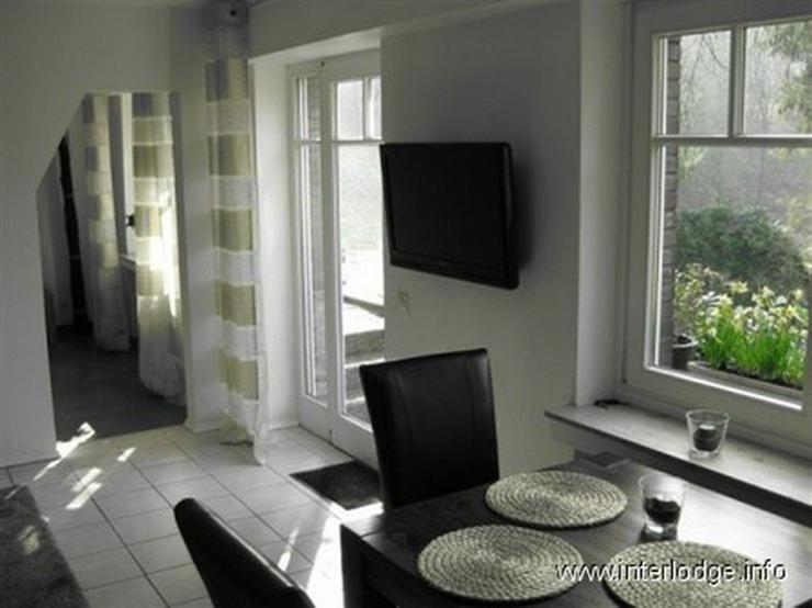 INTERLODGE Möblierte 3-Raum-Wohnung mit Südterrasse in bevorzugter Lage in Essen-Kettwig - Wohnen auf Zeit - Bild 1