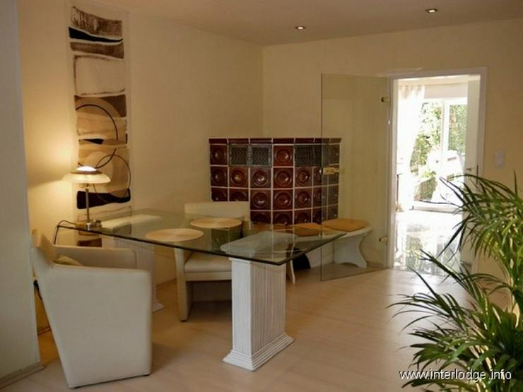 Bild 6: INTERLODGE Modern möblierte Wohnung, gute Ausstattung, mit Terrasse und Garten in Essen-H...
