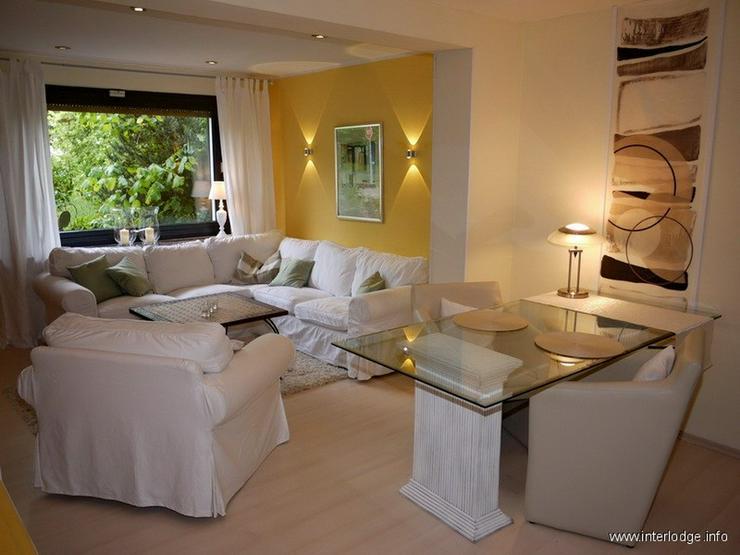 INTERLODGE Modern möblierte Wohnung, gute Ausstattung, mit Terrasse und Garten in Essen-H... - Wohnen auf Zeit - Bild 1