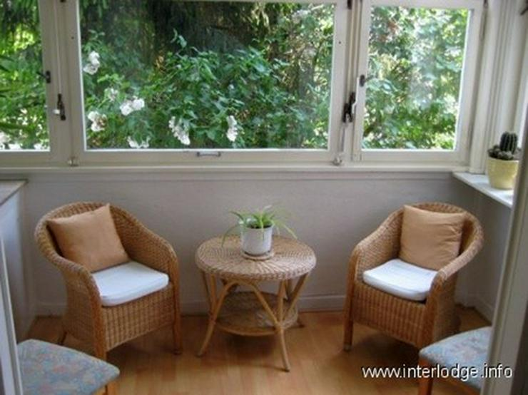 INTERLODGE Möblierte Wohnung in ruhiger Lage mit Wohnküche und Wintergarten in Düsseldo... - Wohnen auf Zeit - Bild 1