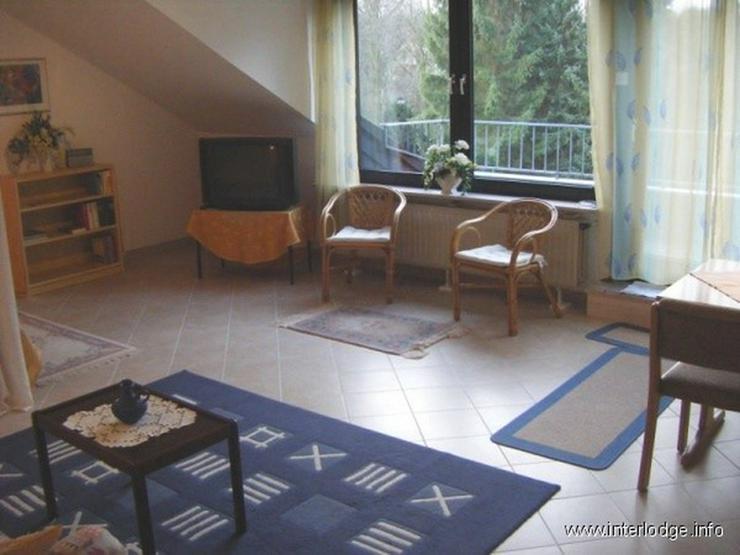 Bild 2: INTERLODGE Möbliertes Apartment hell und modern mit Balkon ruhiger Lage in Bochum-Eppendo...