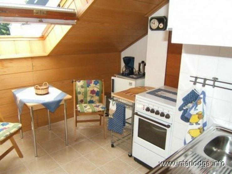 Bild 4: INTERLODGE Möbliertes Apartment hell und modern mit Balkon ruhiger Lage in Bochum-Eppendo...
