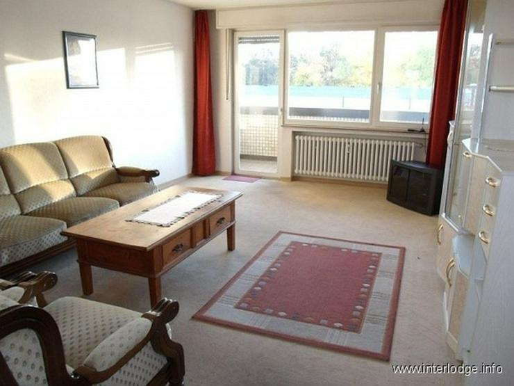 INTERLODGE Möblierte, helle und freundliche Wohnung mit Lift und Balkon im Zentrum von Ge... - Wohnen auf Zeit - Bild 1