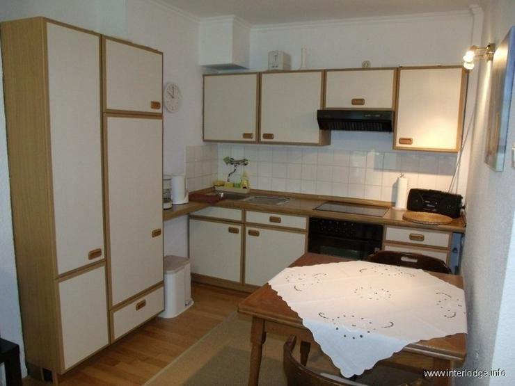 Bild 4: INTERLODGE Möbliertes Apartment im Hochparterre mit Küchenzeile und Balkon in Gelsenkirc...