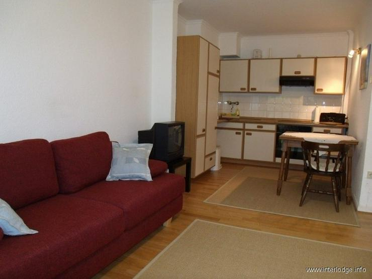 Bild 3: INTERLODGE Möbliertes Apartment im Hochparterre mit Küchenzeile und Balkon in Gelsenkirc...