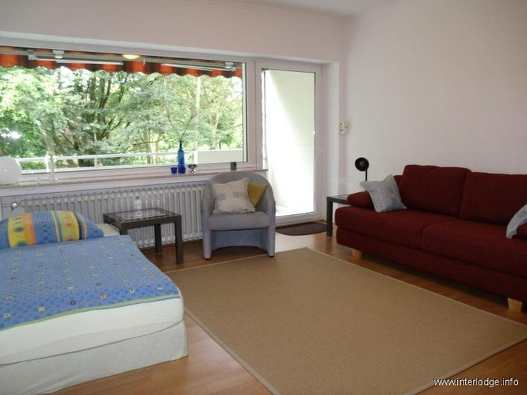 INTERLODGE Möbliertes Apartment im Hochparterre mit Küchenzeile und Balkon in Gelsenkirc... - Wohnen auf Zeit - Bild 1