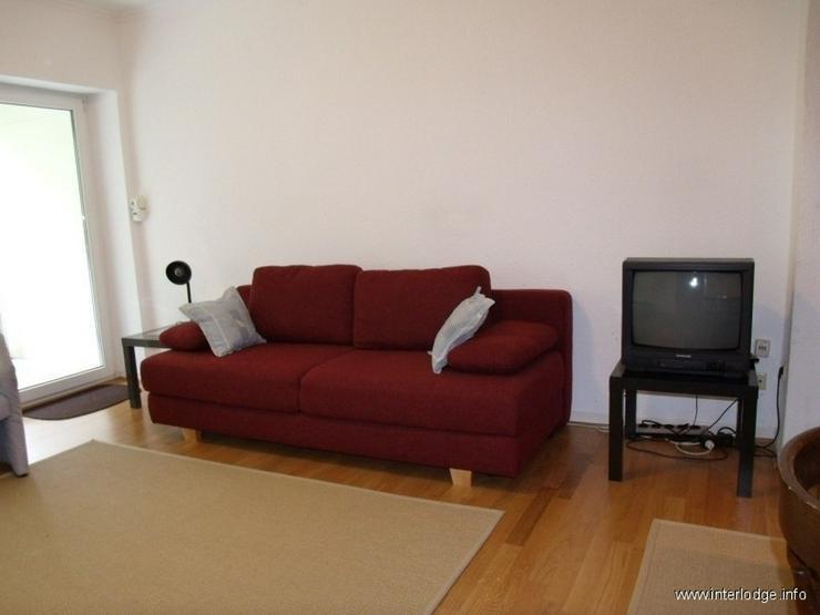 Bild 2: INTERLODGE Möbliertes Apartment im Hochparterre mit Küchenzeile und Balkon in Gelsenkirc...