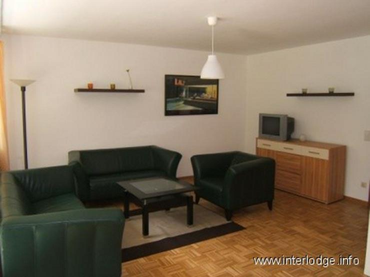 Bild 3: INTERLODGE Komplett, modern möbliertes Apartment mit Balkon und PKW-Stellplatz in Essen-B...