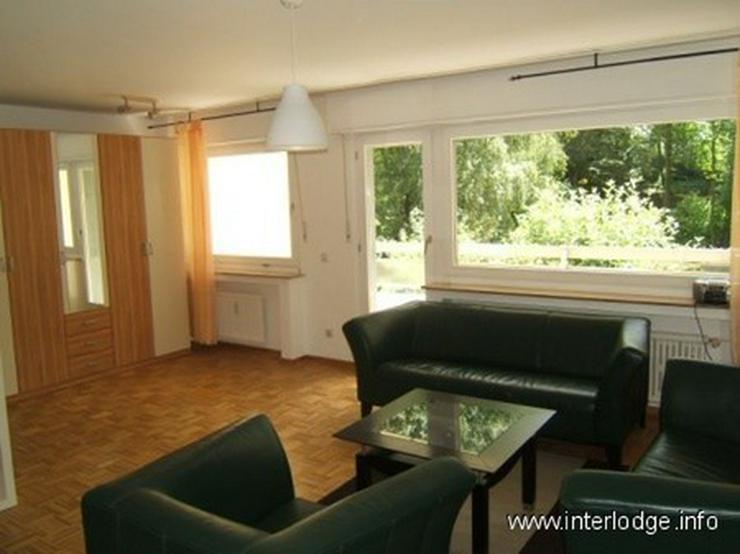 INTERLODGE Komplett, modern möbliertes Apartment mit Balkon und PKW-Stellplatz in Essen-B... - Bild 1