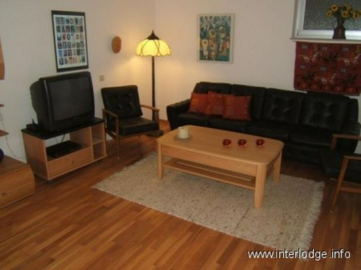 Bild 2: INTERLODGE Möblierte Wohnung mit Terrasse und Gartennutzung in ruhiger Lage in Bochum-Sti...