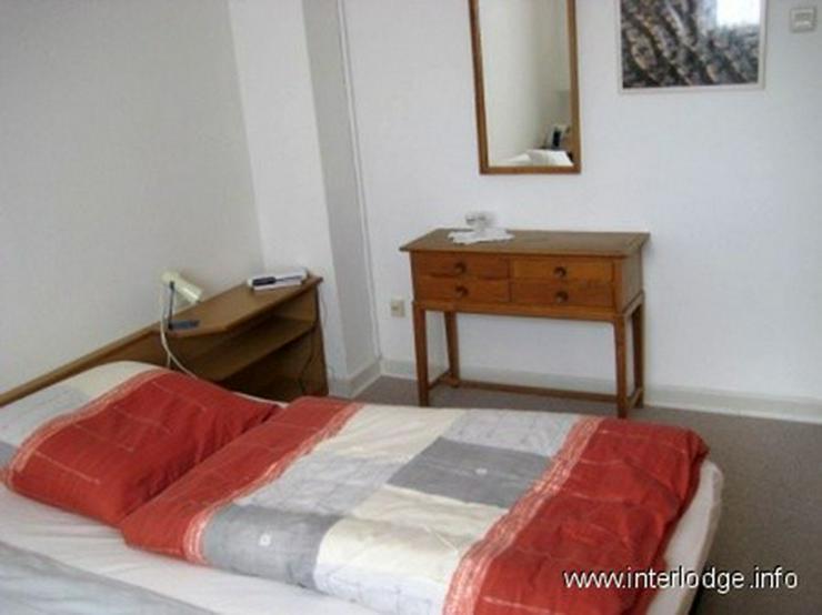 Bild 2: INTERLODGE Sehr ruhig gelegene, kleine, komplett möblierte Wohnung in Düsseldorf-Heerdt