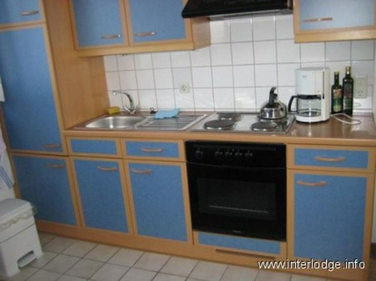 Bild 6: INTERLODGE Sehr ruhig gelegene, kleine, komplett möblierte Wohnung in Düsseldorf-Heerdt