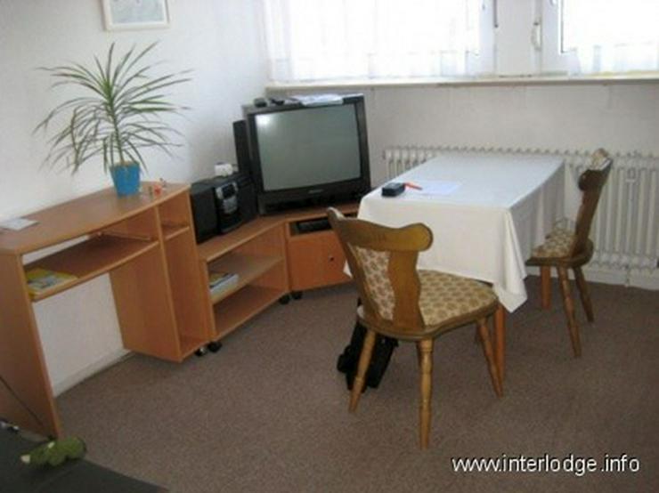 Bild 5: INTERLODGE Sehr ruhig gelegene, kleine, komplett möblierte Wohnung in Düsseldorf-Heerdt
