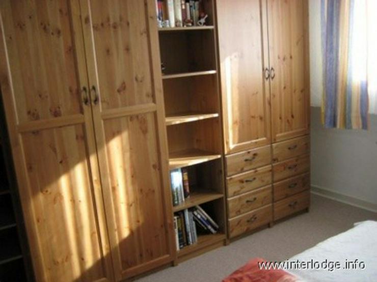 Bild 4: INTERLODGE Sehr ruhig gelegene, kleine, komplett möblierte Wohnung in Düsseldorf-Heerdt
